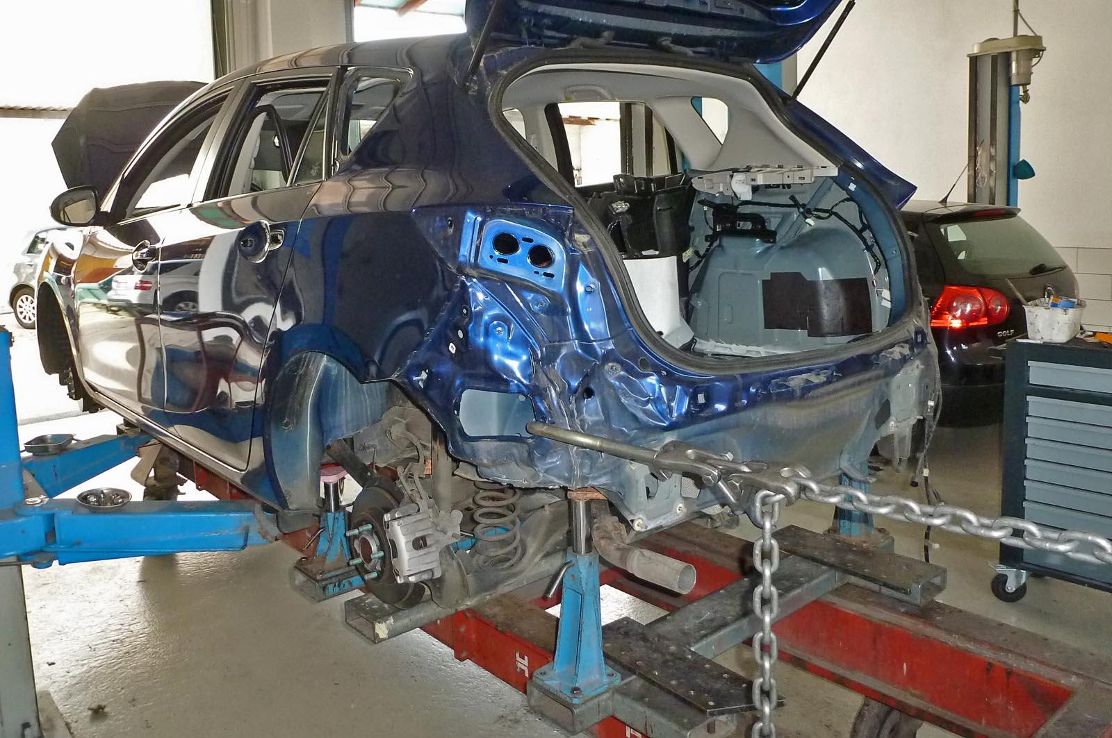 Auto Unfallinstandsetzung Hildebrand Karosseriebau